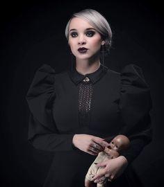 Photographe: Philippe Denis Modèle: Mlle Chamalow Stylisme: Atelier Onyx  PARIS, 2017