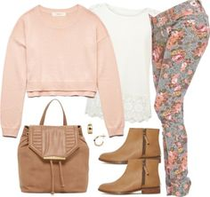 Alison Dilaurentis inspired outfit by liarsstyle featuring a pink crop top