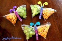 Great snack ideas.