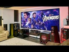 Home Theater Setup, Dream Theater, Home Theater Rooms, Cinema Room, Theater Seating, Home Theater Surround Sound, Gaming Room Setup, Surround Sound Systems, Dolby Atmos