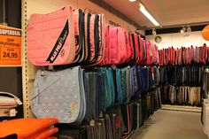 """""""This is the barns tack room. Anyone can use anything in here as long as they put it back."""""""