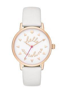 hello sunshine metro watch (rose gold) - $195