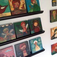 love the angel paintings