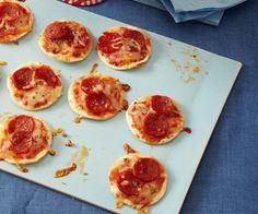 Thin Crust Mini Pepperoni Pizzas