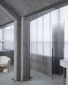 sophie hicks sets acne studios' seoul flagship within translucent lightbox