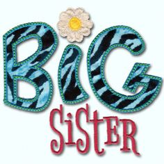 KMD-Applique Big Sister