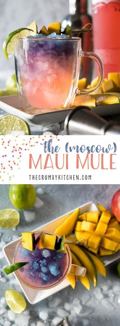 The Maui Mule puts a tropical twist on the classic cocktail! Trade out your typical vodka for something a little more pink, and your drink will be as gorgeous as a Hawaiian sunset! #ad @KinkyBeverages #SoGoodItsNaughty