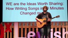 How Writing Songs in 60 Minutes Changed my Life: Judith Avers at TEDxLewisburg - YouTube
