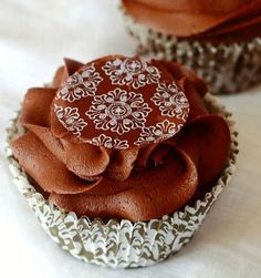 Pic of the Week: Chocolate Brownie Cupcakes