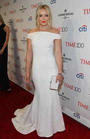 Lindsey Vonn Off-the-Shoulder Dress