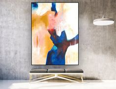 Original Abstract Painting on Canvas, Vertical Large Wall Canvas, Large Wall Art, Canvas Wall Art, Art Prints Quotes, Canvas Art Prints, Disney Art Diy, Abstract Art, Abstract Paintings, Canvas Paintings