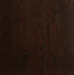 BOIS FRANC CHÊNE Choco Format:2 1/4'', 3 1/4'', 4'' Boiseries Metropolitaines