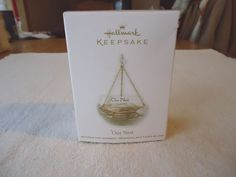 "Hallmark Keepsake Our Nest Hanging Ornament "" EUC """
