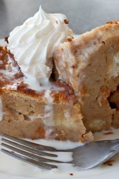 Butterscotch Bread Pudding - Holidays