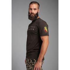 Spiritual Gangster Rasta Tee ($38) ❤ liked on Polyvore featuring men's fashion, men's clothing, men's shirts, men's t-shirts, activewear and spiritual gangster