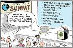"""What if climate change is a big hoax and we create a better world for nothing"" Mr Abbott says ""It's crap"""