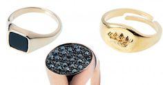 Chevalières femme : notre sélection des plus beaux bijoux - Cosmopolitan.fr