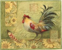 Susan Winget  roosterwithfeather