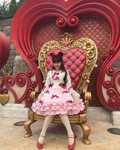 Misako Aoki at Shanghai Disneyland