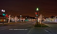greendale wi | Greendale WI Village Square Christmas Lights