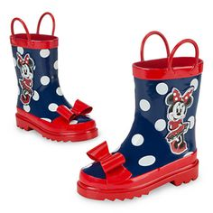 Minnie Mouse Rain Boots for Girls