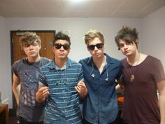 5 seconds of summer! These guys are opening for 1D and they are pretty awesome!