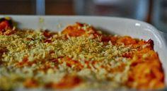 Ovenschotel met kip en pompoen