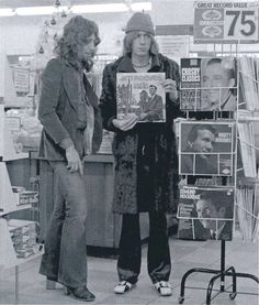Steve Hillage and Kevin Ayers.