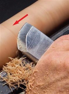 Learn Woodworking AW Extra - Reshaping the Skew Chisel - Popular Woodworking Magazine Woodworking Chisels, Learn Woodworking, Popular Woodworking, Woodworking Furniture, Woodworking Crafts, Woodworking Plans, Woodworking Machinery, Woodworking Techniques, Woodworking Patterns