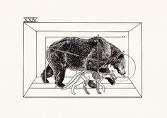 Peter James Carrington - Bear and Fox
