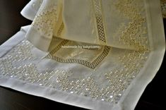Lady Ricamo Napkins, Lady, Tableware, Images, Handmade, Hardanger, Search, Dinnerware, Hand Made