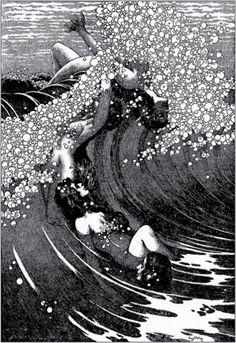 Siren Song, Virgil Finlay