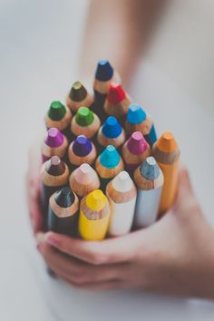 Get inspired with chubby colored pencils