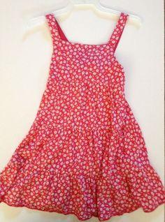 54f1b613f0e1 Girls Chaps Sun Dress with Floral Print Sz- 6X  Chaps  Everyday