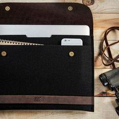 Macbook 12 Inch Case - 100% Merino Wool