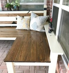 DIY Kids Gravel Play Area, Rustic Bench, and Activity Board