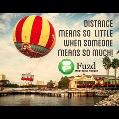 "Lmao..this is the balloon ride in downtown disney..weird that it's a background for this ""meet people"" add"