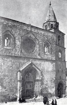 Larino, Cattedrale di S. Pardo negli anni Venti del Novecento