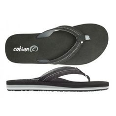 Cobian Black Super Bounce Sandals for Women with Triple Layer Density for Extra Cushion and Arch Support in Fun Fashionable Water-Friendly Feel