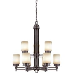 Give your home a new and improved look with this attractive lighting fixture. This light is perfect for any decor and has a great finish.