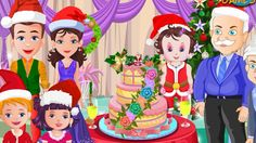 Baby Lisi Christmas Cake Game - Kids and Baby Games For Christmas