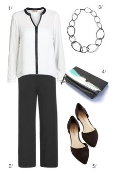 black and white for work (and drinks after!) // click for outfit details