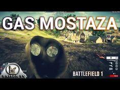 Battlefield 1 El Gas Mostaza Sus Efectos y La máscara antigas con Gameplay