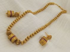 Radiant Antique Golden Chain Set Gold Jewelry, Gold Necklace, Jewellery, Cremation Jewelry, Indian Jewelry, Chain, Bridal, Antiques, Bracelets
