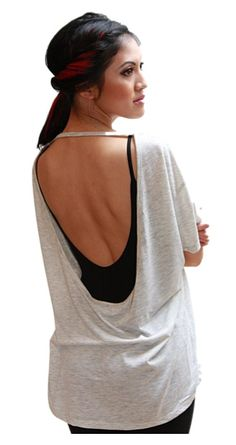 ***you can make this. Cut the back out of a cute stretch loose shirt!