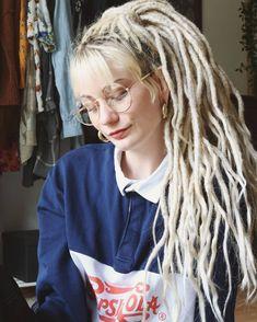 White Girl Dreads, Morgenstern, White Girls, Dreadlocks, Hair Styles, Beauty, Instagram, White Chicks, Hair Makeup