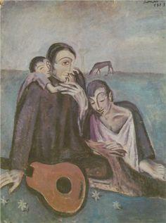 Domestic Scen - Salvador Dali  1923