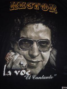 Hector Lavoe nueva foto de camiseta.