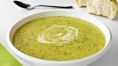 Courgette and Almond Soup - RTE Food