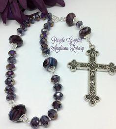 Rosario protestante Anglicana de cristal por FaithExpressions